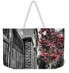 Crape Myrtles In Historic Downtown Charleston 2 Weekender Tote Bag