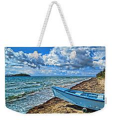 Crash Boat Weekender Tote Bag