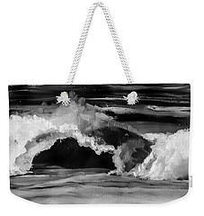 Crash Weekender Tote Bag by Heather  Hiland