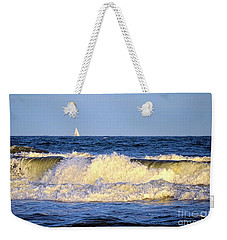 Crashing Waves And White Sails Weekender Tote Bag