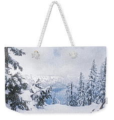 Crater Lake National Park In June Weekender Tote Bag