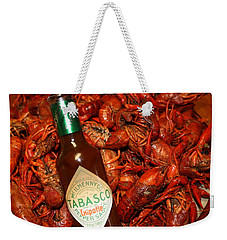 Crawfish And Tabasco Weekender Tote Bag by Donna G Smith