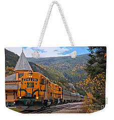 Crawford Notch Train Depot Weekender Tote Bag