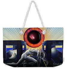 Crawling To Life Weekender Tote Bag by Rosa Cobos