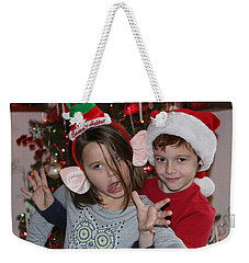 Weekender Tote Bag featuring the photograph Crazy Christmas by Denise Romano
