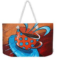 Crazy Coffee Weekender Tote Bag
