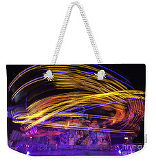 Crazy Ride Weekender Tote Bag by Ray Warren