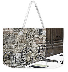 Cream Cafe - Tuscany Weekender Tote Bag