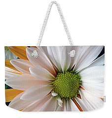 Weekender Tote Bag featuring the photograph Creamsicle by Jean OKeeffe Macro Abundance Art