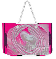 Weekender Tote Bag featuring the digital art Callie by Catherine Lott