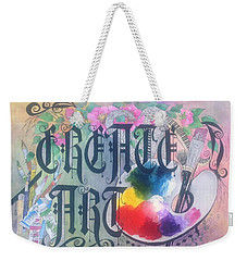 Create Art Weekender Tote Bag