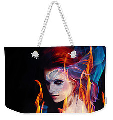 Creation Fire And Flow Weekender Tote Bag