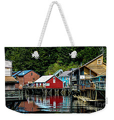 Creek Street - Ketchikan Alaska Weekender Tote Bag