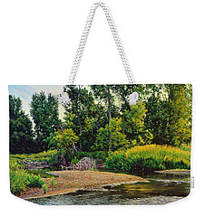 Creek's Bend Weekender Tote Bag