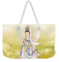Weekender Tote Bag featuring the photograph Creel Kuan Yin by Lanjee Chee