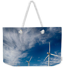 Creosote And Wind Turbines Weekender Tote Bag