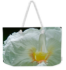 Crepe Ginger Weekender Tote Bag by Jocelyn Kahawai