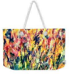 Crescendo Of Spring Abstract Weekender Tote Bag