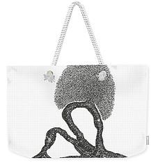 Crescent Lunge Weekender Tote Bag