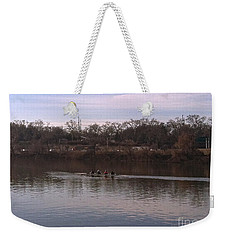 Crew On The Schuylkill - 1 Weekender Tote Bag