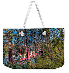 Weekender Tote Bag featuring the photograph Crim Dell Bridge by Jerry Gammon