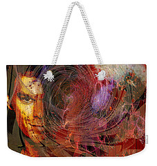 Crimson Requiem - Square Version Weekender Tote Bag