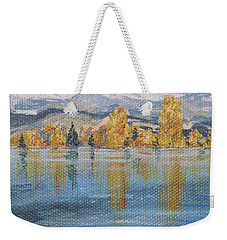 Crisp Morning Weekender Tote Bag