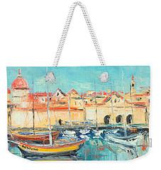 Croatia - Dubrovnik Harbour Weekender Tote Bag