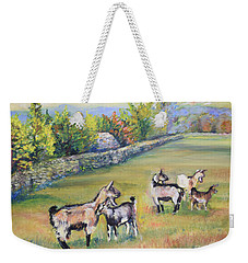 Croatian Goats Weekender Tote Bag