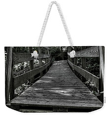Crooked Bridge Weekender Tote Bag