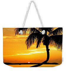 Crooked Palm Weekender Tote Bag