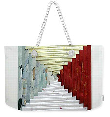 Crooked Staircase Weekender Tote Bag