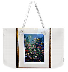 Weekender Tote Bag featuring the photograph Crookedest Street In The World by Jay Milo