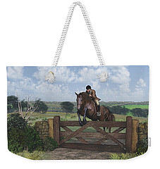 Cross Country Weekender Tote Bag