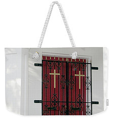 Key West Church Doors Weekender Tote Bag