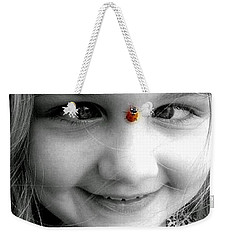 Cross-eyed For Ladybugs Weekender Tote Bag