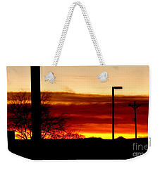 Cross The Skies Weekender Tote Bag