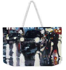 Crossed Weekender Tote Bag
