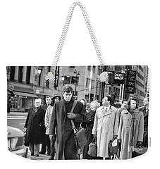 Crossing Manhattan Weekender Tote Bag