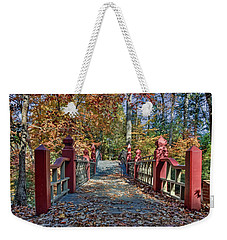 Crossing The Crim Dell Bridge II Weekender Tote Bag