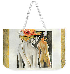 Crossing To The Another Side Of The  Shadow Weekender Tote Bag