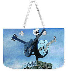 Crossroads In Clarksdale Weekender Tote Bag