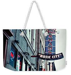 Crossroads Weekender Tote Bag by Linda Unger