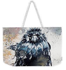 Crow After Rain Weekender Tote Bag