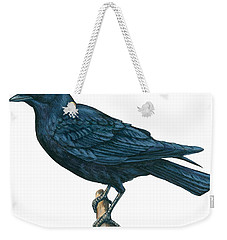 Crow Weekender Tote Bag by Anonymous