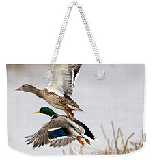 Crowded Flight Pattern Weekender Tote Bag