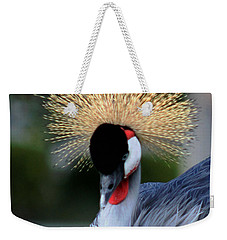 Crowned Weekender Tote Bag by Pamela Walton