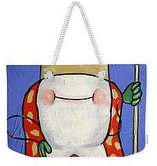 Crowned Tooth Weekender Tote Bag