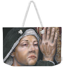 Crucifixion- Mothers Pain Weekender Tote Bag