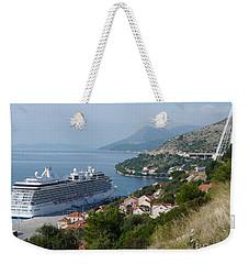 Cruise Ship Riviera - Dubrovnik Weekender Tote Bag